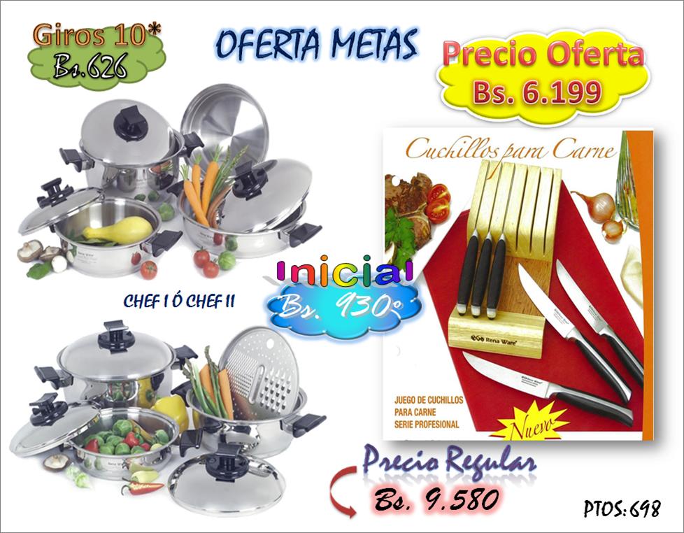 Noviembre mes de las ofertas su asesor rena ware de for Precios de utensilios de cocina rena ware